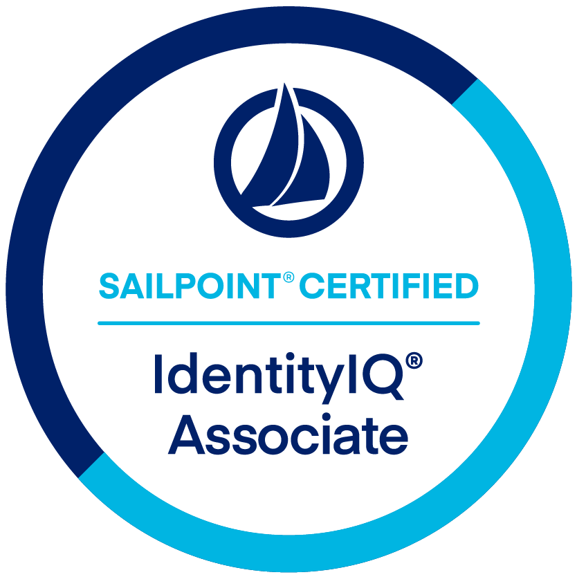 SailPoint IdentityIQ Associate Certification badge