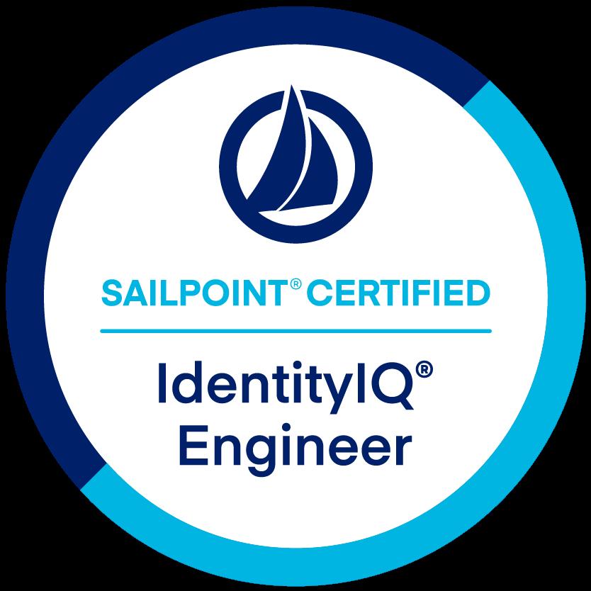 SailPoint IdentityIQ Engineer Certification badge