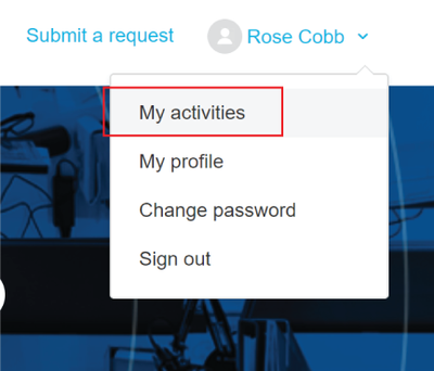 How To Support Portal My Activities.png