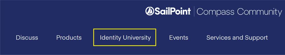 Identity University Menu.png